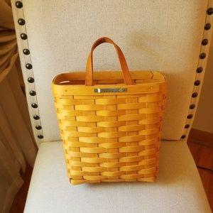 Longaberger Storage & Organization - Longaberger Hanging Letter Basket